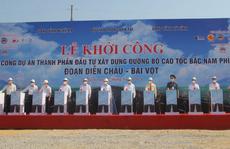 Khởi công dự án thành phần cao tốc Bắc - Nam hơn 11.000 tỉ đồng