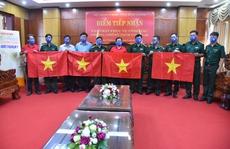 'Cờ Tổ quốc biên cương' đến với vùng biên giới Bình Phước
