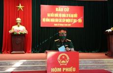 Bộ Tư lệnh Vùng Cảnh sát biển 2 hoàn thành tốt công tác bầu cử
