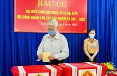 Bỏ phiếu tại Bình Dương, Bình Phước, Tây Ninh