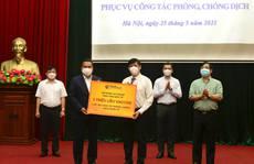 Tập đoàn của 'bầu' Hiển trao tặng Bộ Y tế 1 triệu liều vắc-xin Covid-19