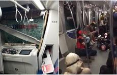 Malaysia: Hai đoàn tàu tông thẳng nhau trong đường hầm
