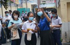 Tuyển sinh lớp 10 ở TP HCM: Hơn 83.000 thí sinh phải khai báo y tế mỗi ngày