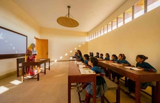 Kiến trúc độc đáo của ngôi trường nữ sinh ở Ấn Độ