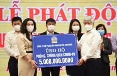 Tập đoàn Địa ốc Kim Oanh ủng hộ 7 tỉ đồng mua vắc-xin phòng, chống Covid-19