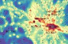 Thiên hà chứa Trái Đất bị 'sợi xích ma' nối với các thiên hà khác