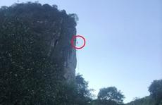 CLIP: Người đàn ông bị ong đốt bất tỉnh treo lơ lửng trên vách núi