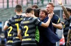 Inter Milan soán ngôi vương Serie A của Juventus