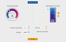 Người dân ước tính điện năng tiêu thụ, tránh hoá đơn tăng 'sốc' mùa nắng nóng