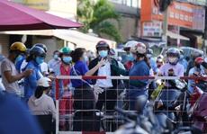 Người dân Gò Vấp phải khai báo y tế rõ ràng để vào khu trung tâm TP HCM
