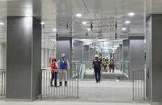 Kiến trúc ấn tượng bên trong ga Ba Son sâu 20m dưới lòng đất