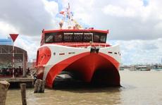 Tạm ngưng hoạt động tàu cao tốc tuyến Cà Mau – Nam Du – Phú Quốc