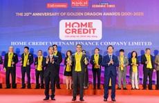Home Credit đoạt giải thưởng Rồng Vàng lần thứ 7 liên tiếp