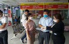 TP HCM: Chấn chỉnhviệc phòng chống dịch ở Bến xe An Sương