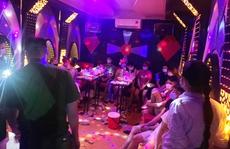 Bắt quả tang 13 nam nữ 'bay lắc' trong quán karaoke giữa dịch Covid-19