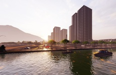 Yếu tố nước trong dự án The New City Châu Đốc