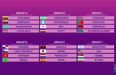 Việt Nam sẽ đấu Brazil ở VCK FIFA Futsal World Cup 2021