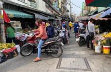 Mùi chợ giữa lòng thành phố