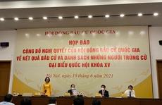 Danh sách người trúng cử đại biểu Quốc hội khoá XV ở TP HCM