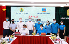 Hợp tác chăm lo sức khỏe đoàn viên ngành y tế