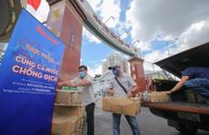 'Thực phẩm miễn phí cùng cả nước chống dịch' đến với bệnh viện tuyến đầu