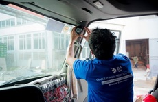 Bộ GTVT vừa kiến nghị Chính phủ gỡ vướng cho phương tiện buộc lắp camera