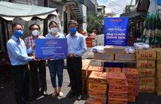 'Thực phẩm miễn phí cùng cả nước chống dịch' của Báo Người Lao Động đến 4 địa điểm ở quận 3
