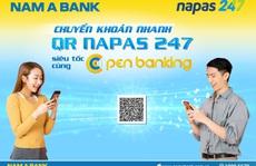 Nam A Bank tiên phong thực hiện chuyển khoản nhanh NAPAS 247 bằng mã QR
