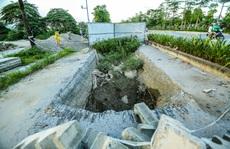CLIP: Cận cảnh Dự án đại lộ Chu Văn An ngàn tỉ vẫn dang dở sau 7 năm thực hiện