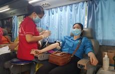 154 đoàn viên tham gia hiến máu tình nguyện