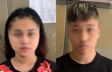 Đôi nam nữ 16 và 17 tuổi liều lĩnh cướp xe ôm trên phố