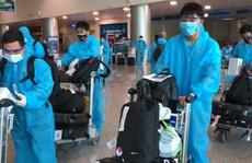Đội tuyển Việt Nam âm tính, ngừng trả lời phỏng vấn đến hết cách ly