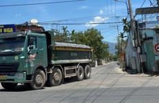 Đà Nẵng: Xe quá tải công khai lộng hành trên đường cấm