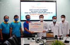 Chương trình 'Tổ quốc cần, cả nước chung tay': Tiếp sức các bệnh viện tuyến cuối của TP HCM