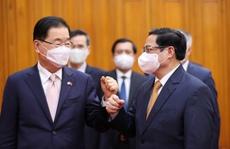 Đề nghị Hàn Quốc có chính sách ưu tiên chia sẻ vắc-xin Covid-19 cho Việt Nam