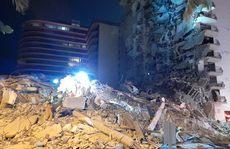 Mỹ: Tòa nhà 12 tầng bất ngờ đổ sập lúc rạng sáng