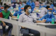 Bảo đảm an toàn giãn cách ở nơi tiêm chủng