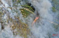 Cháy rừng uy hiếp kho vũ khí, Thừa Thiên - Huế lập sở chỉ huy tiền phương dập lửa