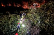 Chưa thể dập tắt hoàn toàn vụ cháy rừng ở Thừa Thiên - Huế