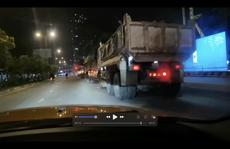 Diễn biến nóng vụ 'đoàn xe ben náo loạn đường Võ Văn Kiệt'