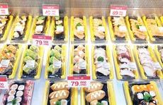 Satramart - Siêu thị Sài Gòn đưa vào hoạt động quầy sushi tự chọn