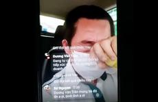 Tài xế taxi Vinasun khóc nức nở vì sợ... chở nhầm khách mắc Covid-19
