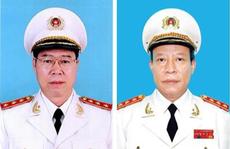 Ba Thượng tướng thôi chức Thứ trưởng Bộ Công an