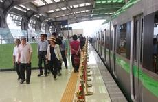 Hành khách tuyến đường sắt Cát Linh-Hà Đông được miễn tiền vé trong 15 ngày đầu tiên
