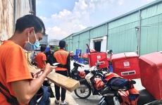 Bán hàng online, shipper 'nổ đơn' liên tục giữa mùa dịch