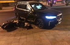 Ô tô BMW X7 đi lùi tông tử vong một thanh niên chạy xe máy