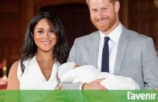 Vợ chồng Hoàng tử Harry đặt 'tên đặc biệt' cho con gái mới sinh