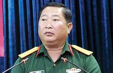 Thủ tướng cách chức Phó Tư lệnh Quân khu 9