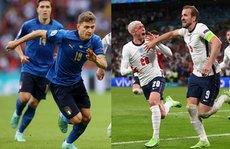 Anh - Ý (2 giờ ngày 12-7, sân Wembley): Thư hùng trên đỉnh châu Âu