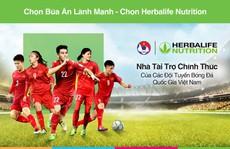 Herbalife Việt Nam là nhà tài trợ chính thức Đội tuyển bóng đá quốc gia Việt Nam
